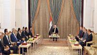 وفد الحوثيين يعود لمسقط بعد لقاء عقده اليوم بالرئيس العراقي