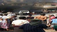 قتلى وجرحى من جنود الحزام الأمني إثر انفجار عبوة ناسفة بأحد الأطقم في لحج