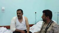 إصابة قائد اللواء 14 مدرع بمواجهات صرواح بمأرب