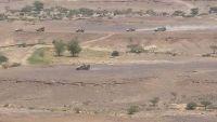 تجدد المعارك بين قوات الشرعية والمليشيات الانقلابية في صرواح غرب مأرب