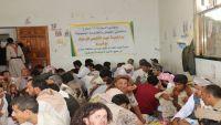 اللواء 310 مدرع يقيم مأدبة غداء لجرحى الجيش الوطني والمقاومة من أبناء محافظة عمران