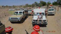 تشييع جثمان قائد الشرطة العسكرية في مارب