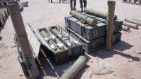 ضبط شاحنة في مارب تحمل صواريخ كانت متوجهة إلى صنعاء قادمة من عمان
