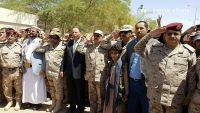 تشييع مهيب للواء عبدالرب الشدادي في مأرب يتقدمهم نائب الرئيس وعدد من المسئولين