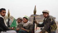 مليشيات الحوثي تقصف قيفة رداع وتحشد من ذمار باتجاه البيضاء ومأرب
