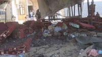 تفجير خيمة عزاء اللواء الشدادي في مأرب تثير استياء واسع بين اليمنيين(رصد خاص)