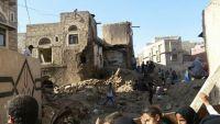 إنفجار ضخم بمصنع لتعويض الذخيرة يتسبب بتهدم منزلين وعشرات الضحايا في ذمار