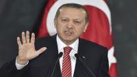 """أردوغان يهاجم """"التوسع الفارسي"""" والحشد الشعبي في العراق"""