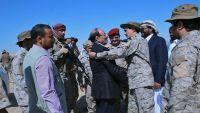 الأحمر يزور مقر قيادة التحالف العربي في مأرب