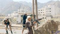 تعز: الجيش يسيطر على البنك المركزي والمليشيا تعدم ثلاثة أسرى ونجاة مراسل تلفزيوني من رصاص قناص حوثي