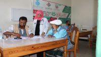 """مخيم """"طيبة"""" الجراحي في باصيهب يشهد إقبالا من المرضى في أول أيامه"""