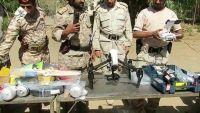 الشرطة العسكرية بمأرب تضبط شاحنة تحمل طائرات استطلاع صغيرة كانت في طريقها للحوثيين (صور)