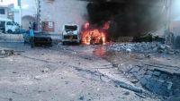 مقتل جندي وإصابة 5 آخرين بينهم مدنيين بانفجار دراجة نارية يقودها انتحاري بأبين