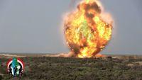تدمير 750 لغما أرضيا بينها إيرانية الصنع بعد نزعها من جبهة ميدي بحجة (فيديو)