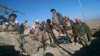 تقدم للجيش الوطني في شبوة والمليشيا تلجئ لتفخيخ جثث قتلاها