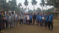 في اطار منافسات الدوري الرياضي الأول لطلاب اليمنيين في الهند فريق الآداب يسحق التجارة بهدفين نظيفين