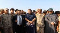 محافظو إقليم تهامة يتفقدون جبهتي حرض وميدي ويشيدون بتضحيات الجيش