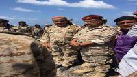 قادة عسكريون بارزون يتفقدون المناطق المحررة في باب المندب (صور)