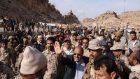 الفريق الأحمر يزور وحدات الجيش الوطني في محافظة صعدة ويؤكد قرب الحسم