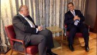 ولد الشيخ يطلع وزير خارجية مصر على نتائج اتصالاته حول الأزمة اليمنية