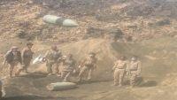 عمليات إزالة الألغام في مأرب تظهر عدة أنواع وأحجام خطيرة (تقرير مصور)