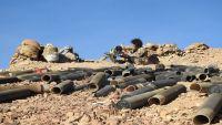مأرب.. مدفعية الجيش الوطني تدمر طقمًا للمليشيات يحمل رشاش متوسط في صرواح