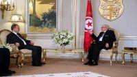 الرئيس التونسي يؤكد دعم بلاده لجهود الحكومة الشرعية في اليمن واستعادة الدولة
