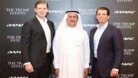 أبناء الرئيس الأمريكي ترامب في دبي لافتتاح ملعب للجولف