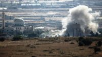 """""""إسرائيل"""" تقصف مواقع سورية وأخرى لحزب الله قرب دمشق"""