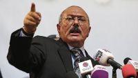 المخلوع صالح مخاطبا السعودية: أوقفوا غاراتكم وسنوقف صواريخنا