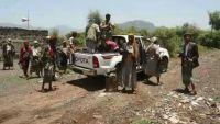 كمين محكم للمقاومة الشعبية استهدف تعزيزات للحوثيين كانت في طريقها إلى عتمة