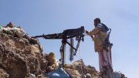 الضالع.. مدفعية الجيش الوطني تدمر طقما للمليشيات بمريس