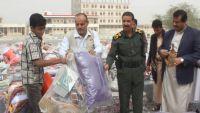 تدشين مشروع الإيواء للنازحين من محافظة إب في مأرب