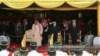 السفارة اليمنية بماليزيا تحضر حفل استقبال الملك سلمان بن عبدالعزيز في قصر ملك ماليزيا