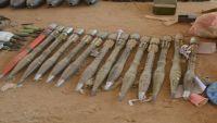 العثور على مخزن كبير لأسلحة تنظيم القاعدة بحضرموت