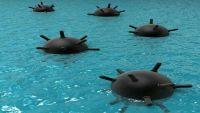 حجة.. الكشف عن عشرات الألغام البحرية إيرانية الصنع في سواحل ميدي