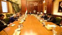 الرئيس هادي يجتمع بمستشاريه لمناقشة المستجدات على الساحة اليمنية