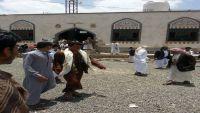 عمران.. مصلون في جامع الإحسان يمنعون الحوثيين من اختطاف خطيب الجامع