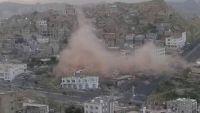 تعز.. استشهاد مدنييْن وجرح آخر بقصف للمليشيا على أحد المساجد وسط المدينة