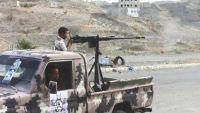 قصف متبادل بين الجيش الوطني والمليشيات الانقلابية في مدينة تعز وريفها