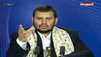 زعيم الحوثيين يشن هجوما على التحالف العربي ويشيد بالدور المصري