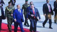 الرئيس هادي يصل الأردن للمشاركة في القمة العربية الـ28