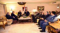 """مبعوث الرئيس الروسي للشرق الأوسط يلتقي """"هادي"""" ويؤكد دعم موسكو للشرعية في اليمن"""