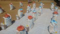 توزيع 2000 سلة غذائية في مديرية عين بمحافظة بشبوة