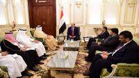 """الرئيس هادي: """"عاصفة الحزم"""" مثلت جوهر وأيقونة التعاون الأخوي المثمر لمواجهة التحديات"""