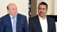 بحاح يُصعد ضد الرئيس هادي: الشرعية ليست مجرد صفة أو صك