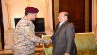 عقب تحطم مروحية سعودية في مأرب.. هادي يلتقي نائب قائد القوات البرية السعودية
