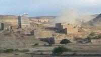 البيضاء.. إصابة طفلين بقصف للمليشيا على قرى بمديرية الصومعة