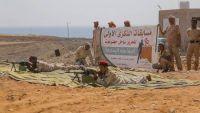 حضرموت.. عرض عسكري بمناسبة الذكرى الأولى لتحرير مناطق الساحل