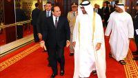 السيسي ومحمد بن زايد يبحثان أزمات اليمن وسوريا وليبيا